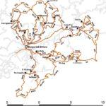 Cartina sentieri Valditaro
