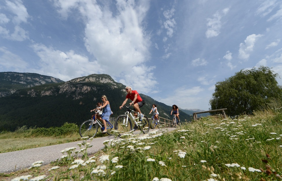 visitfiemme.it pista ciclabile