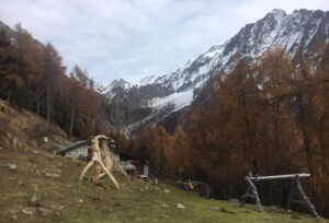 Malga Stein verso la Val Gallinera