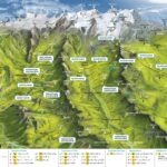 Cartina Alagna Monterosa estate
