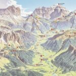 Mappa Val di Fassa
